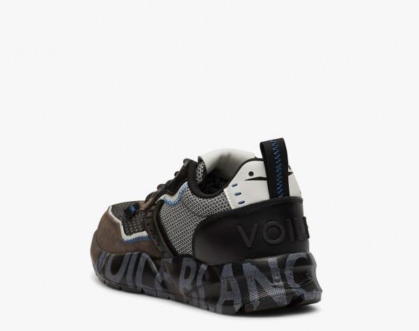 CLUB01 - Sneakers in pelle e rete - Grigio