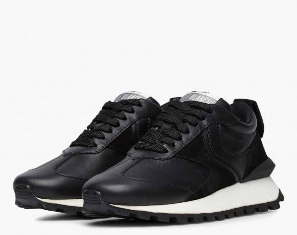 QWARK WOMAN - Sneaker in tessuto tecnico con stabilizzatore - Nero