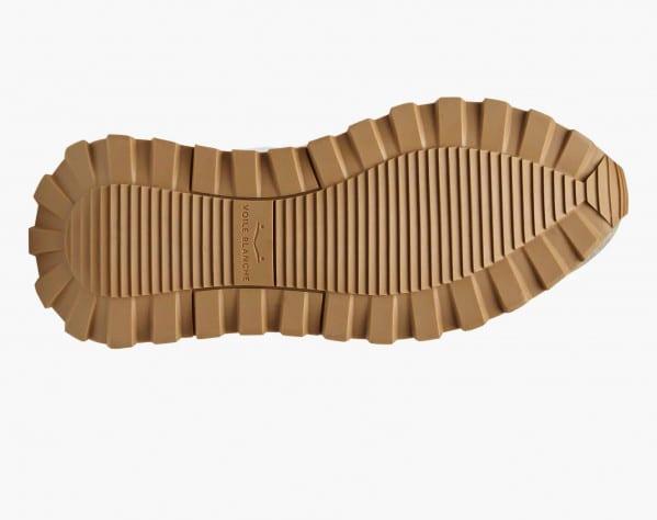 QWARK WOMAN - Sneaker in suede e nylon tecnico - Grigo/Bianco