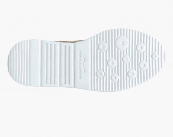 JULIET - Sneaker in suede e micro rete - Grigio