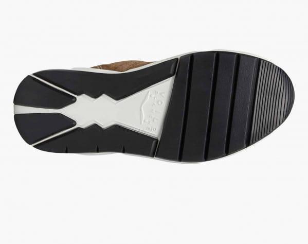 ARPOLH EASY PUMP - Sneaker in suede con imbottitura - Beige