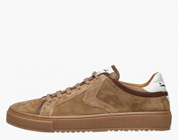 FIT - Sneaker in suede - Beige