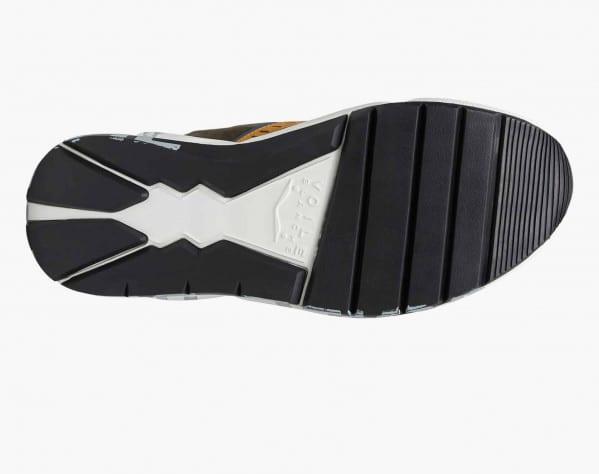 CLUB01. - Sneaker in suede e mesh - Militare