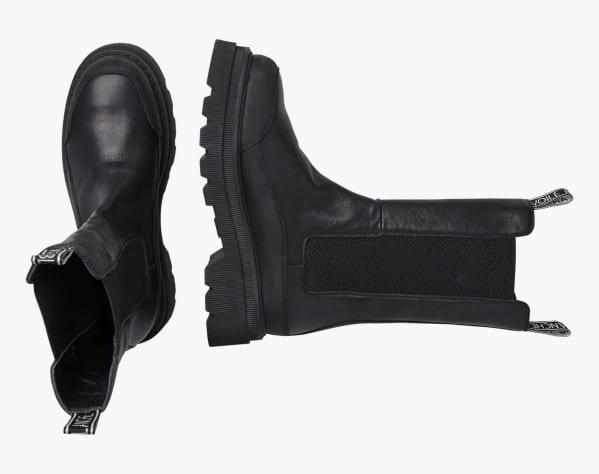 MELBA - Chelsea boot alto - Nero