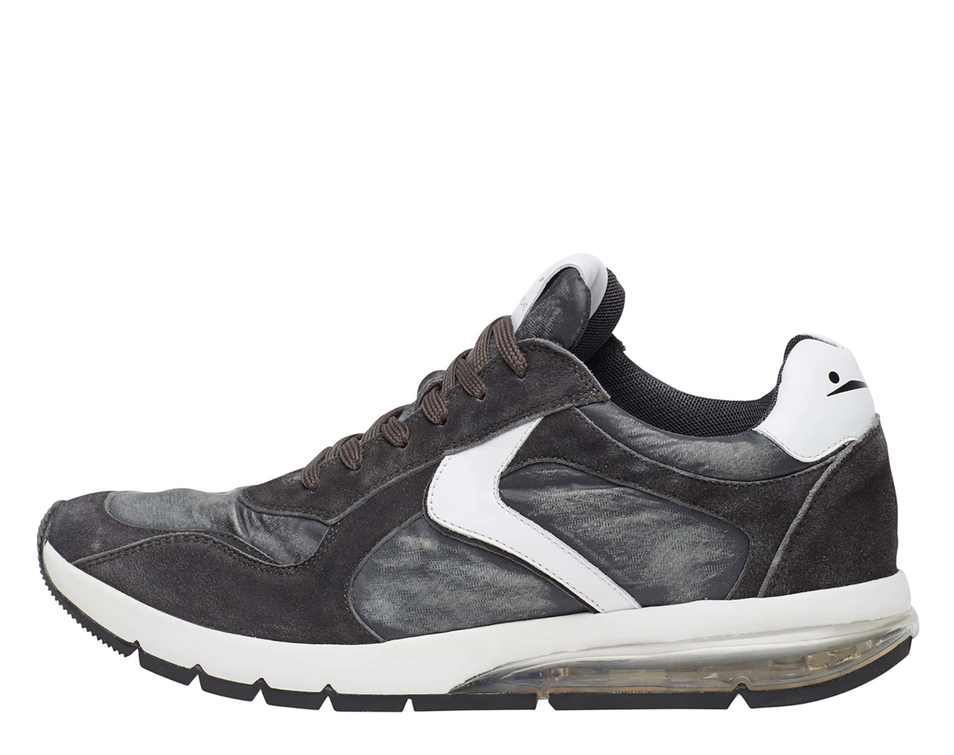 ARGO - Sneakers in pelle e tessuto - Antracite