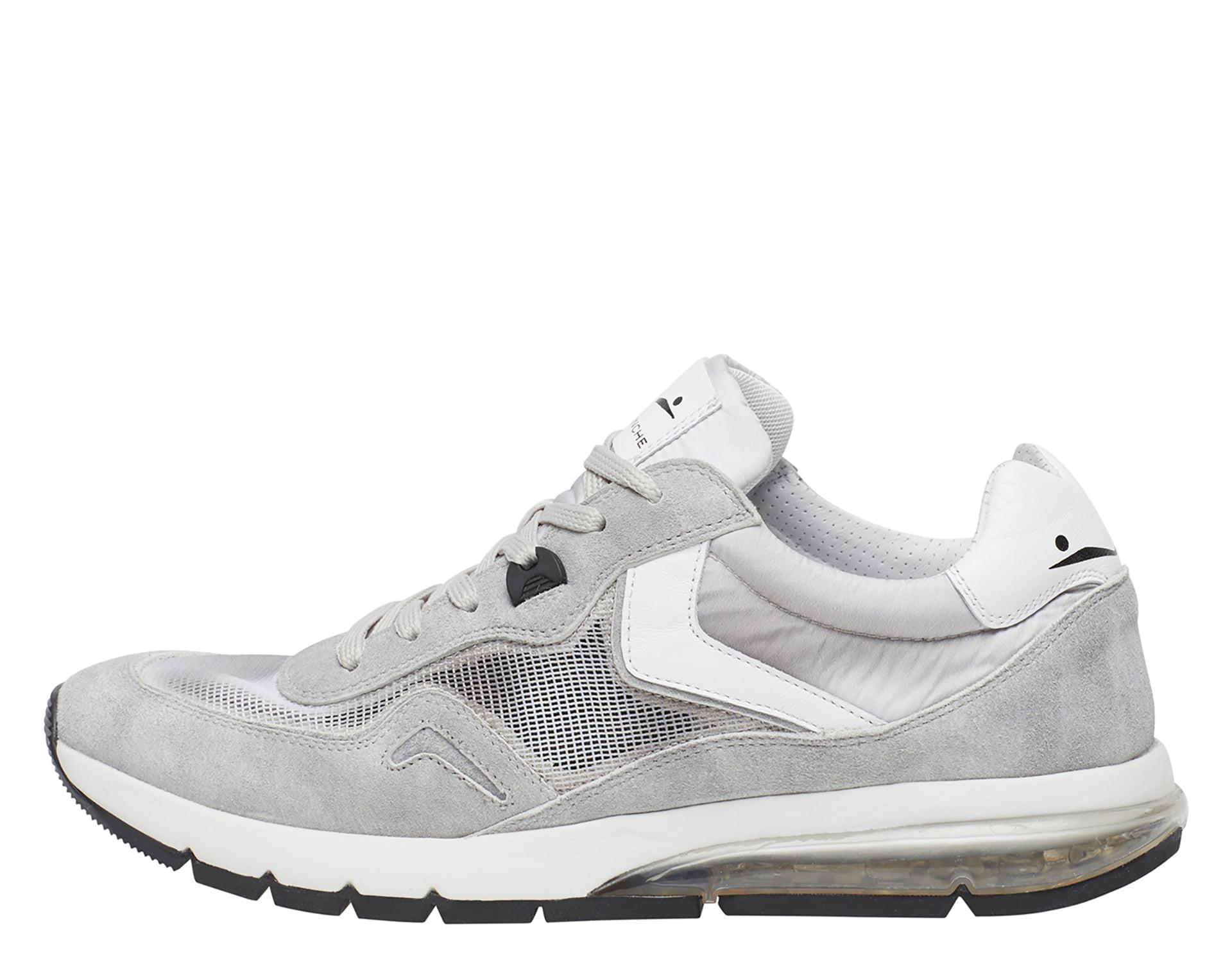 ENDAVOUR MESH - Sneakers in pelle e nylon - Ghiaccio/Bianco