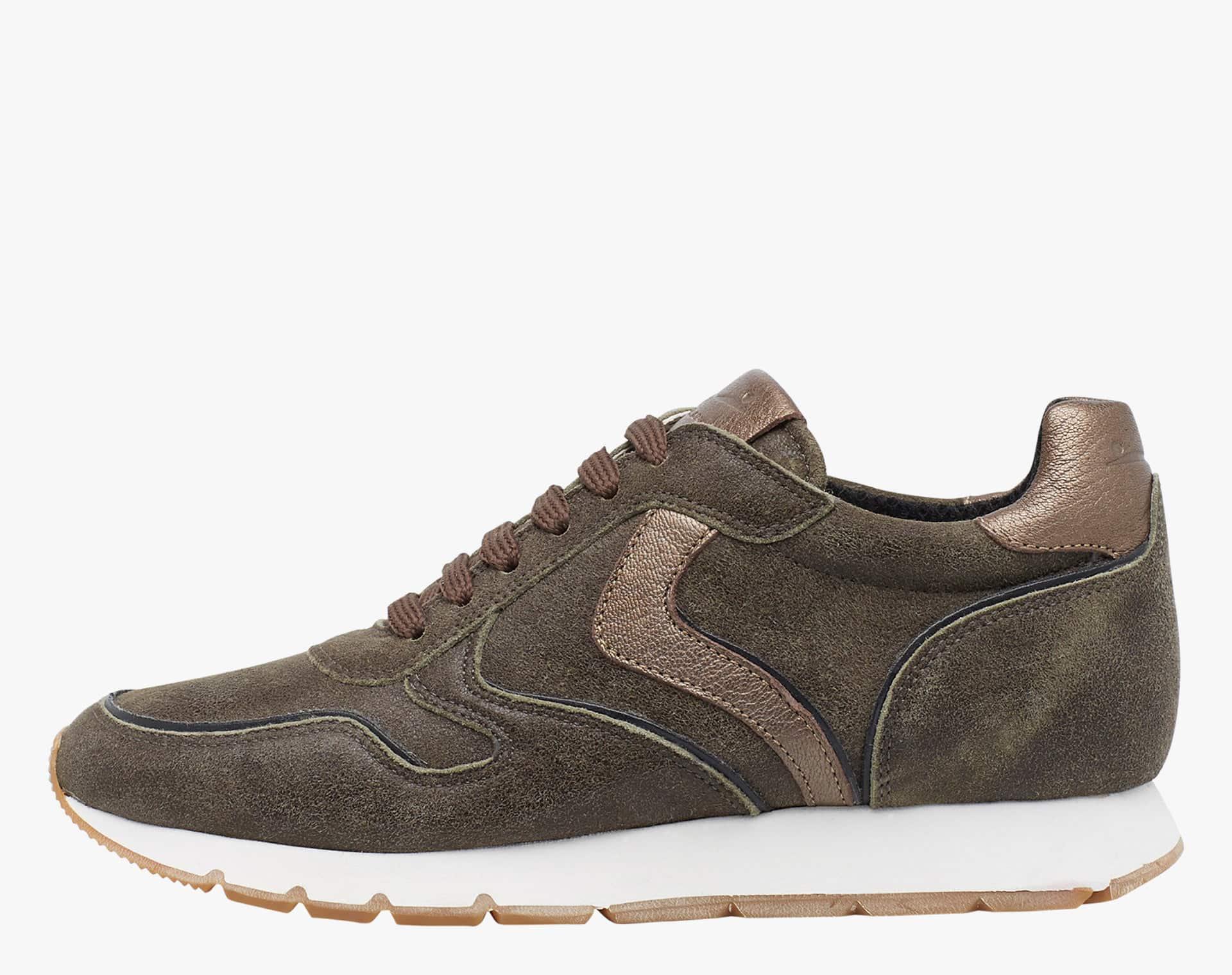 JULIA - Sneaker in pelle - Militare