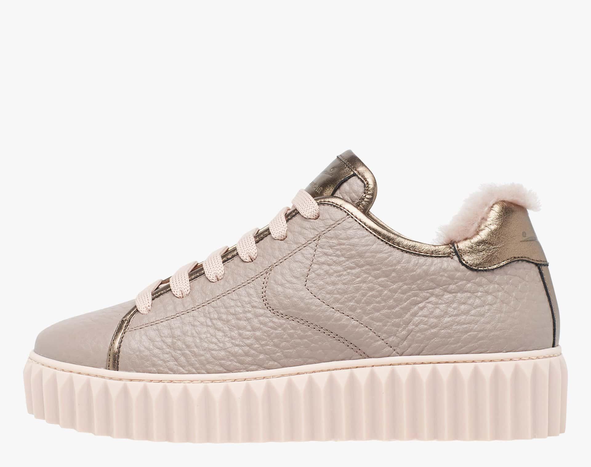 ADELE - Sneaker ibrida in vitello - Grigio