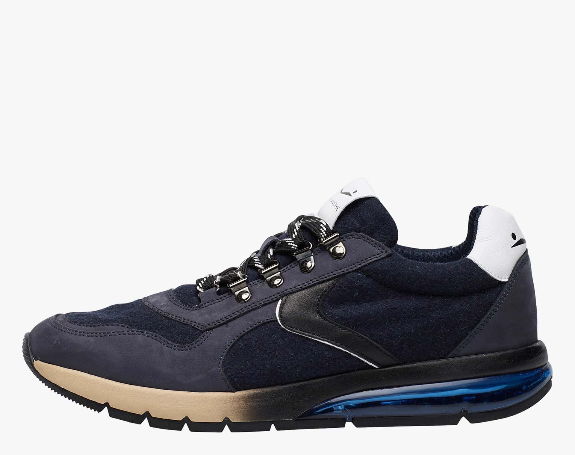 NEW LENNY HOOK - Sneaker con dettagli trek - Blu