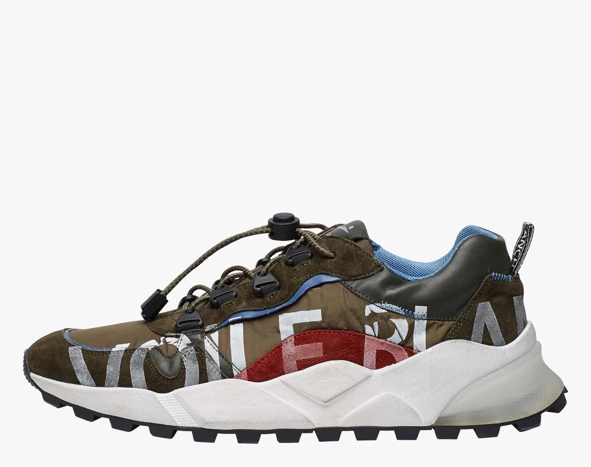 CLUB09 - Sneaker con stampa - Militare