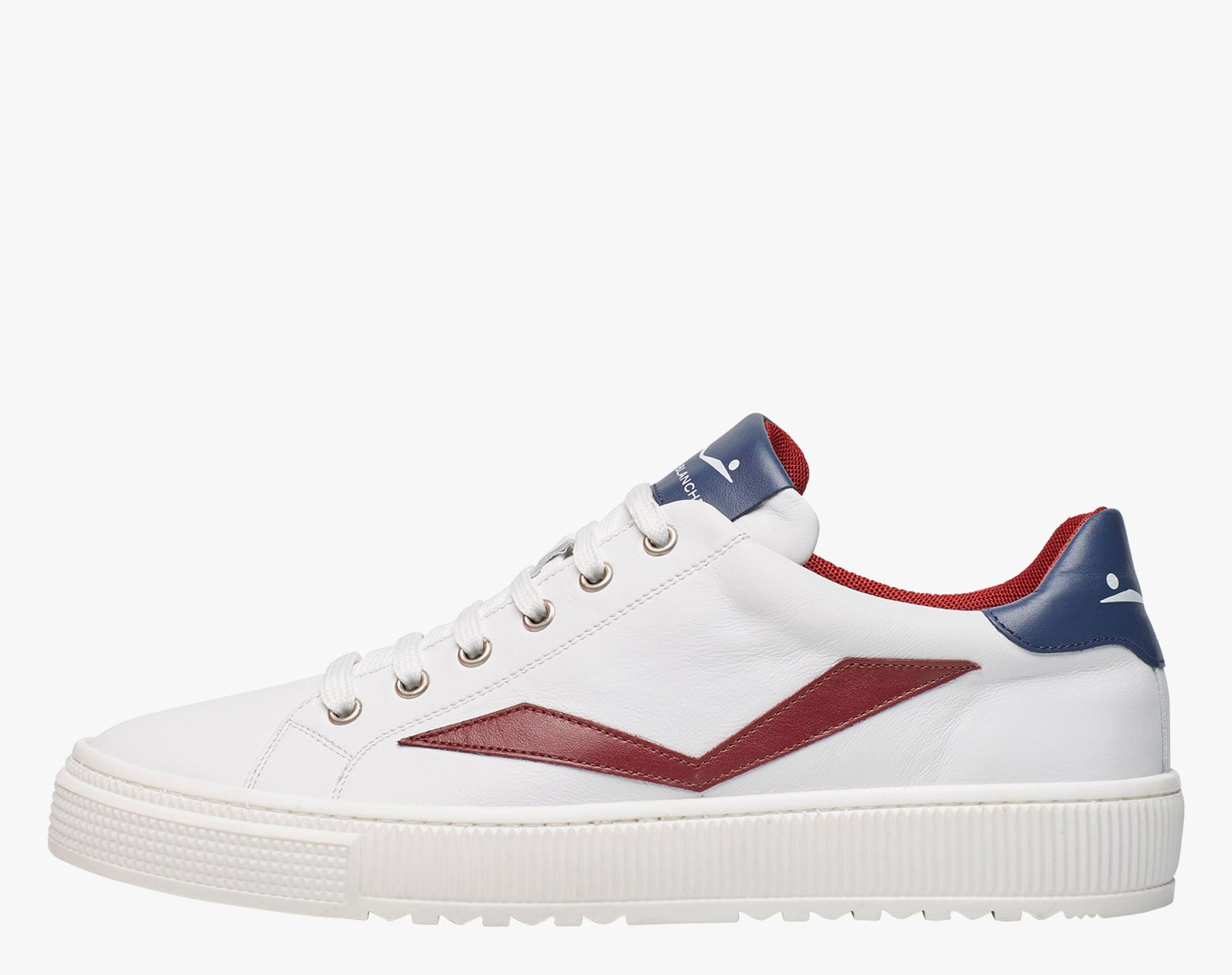 Sneaker in vitello Bianco-FIT II