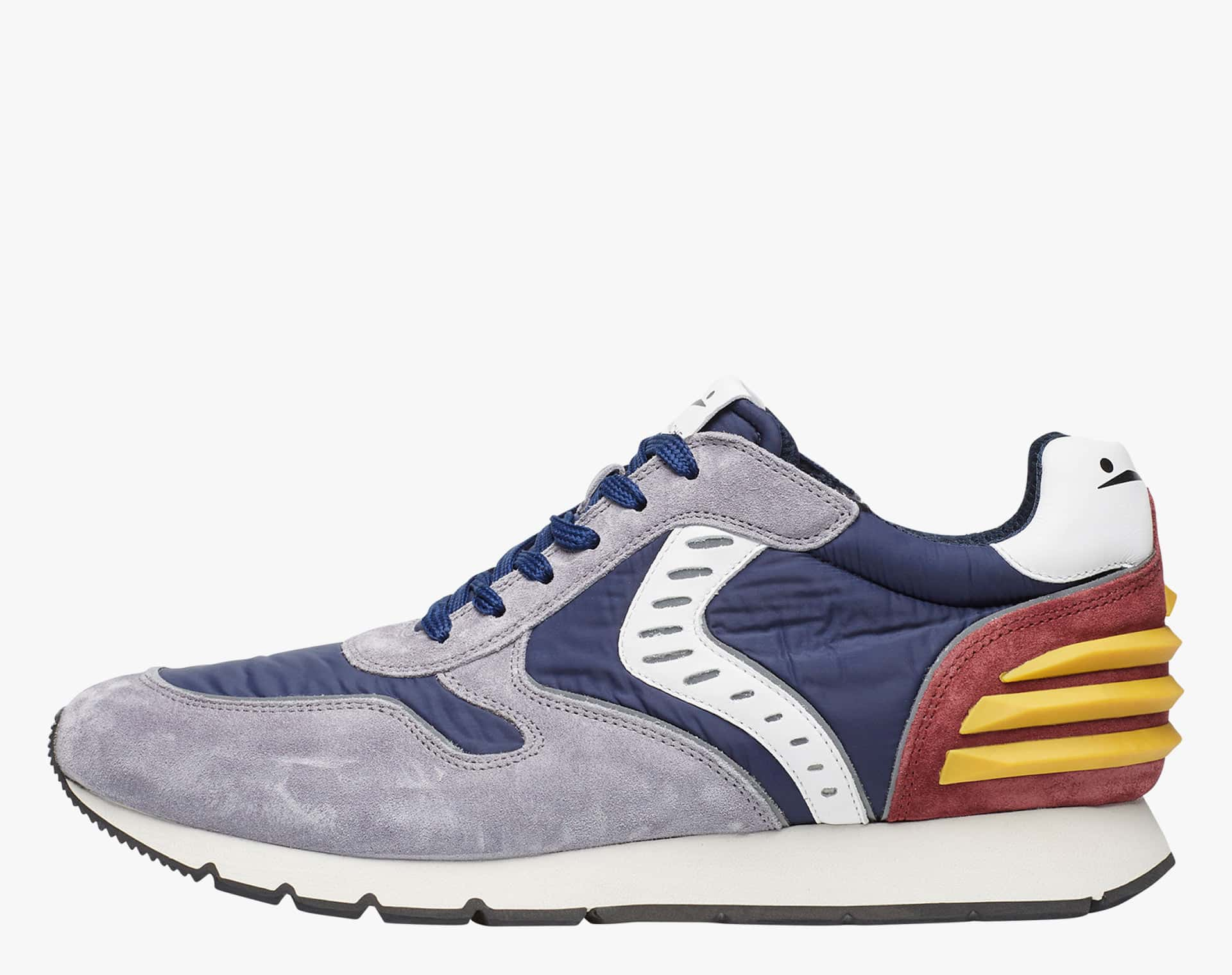 Sneaker in tessuto tecnico e suede Blu-LIAM POWER II