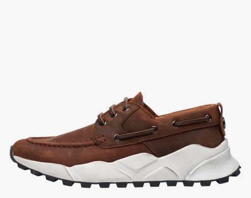 EXTREEMER - Sneaker ibrida in suede - Marrone