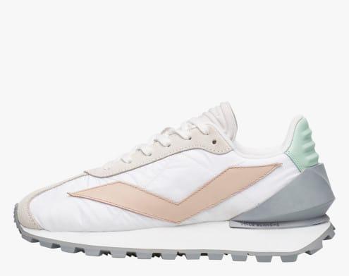 QWARK SPUR WOMAN - Sneaker con tallone in gomma - Bianco