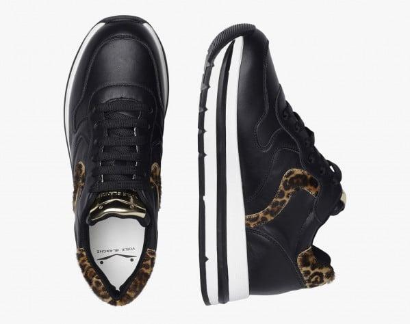 MARAN - Calfskin sneakers - Black