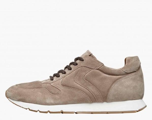 LIAM PUMP - Suede sneakers - Beige