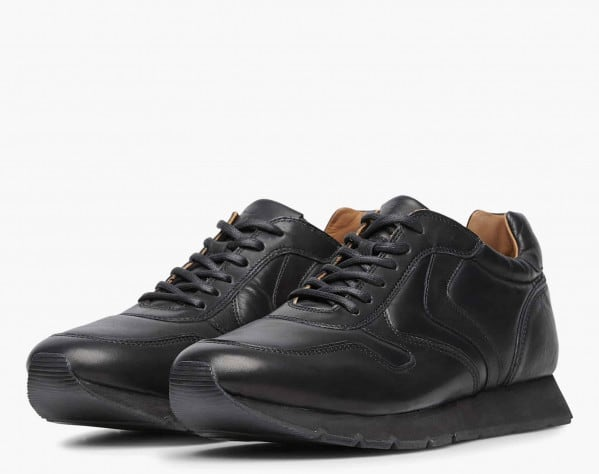 LIAM PUMP - Calfskin sneakers - Black