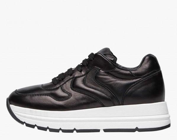 MARAN PUMP - Calfskin sneakers - Black
