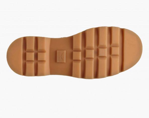 TWEED 09 - Suede Chelsea boots - Cognac