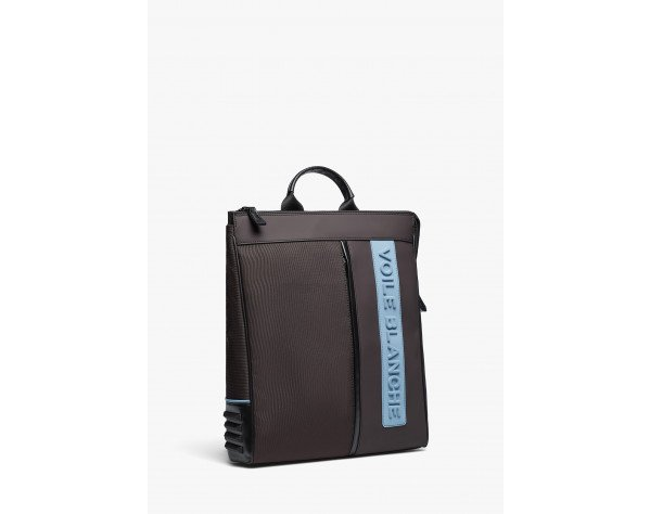 JUSTIN - City backpack with handle - Charcoal grey