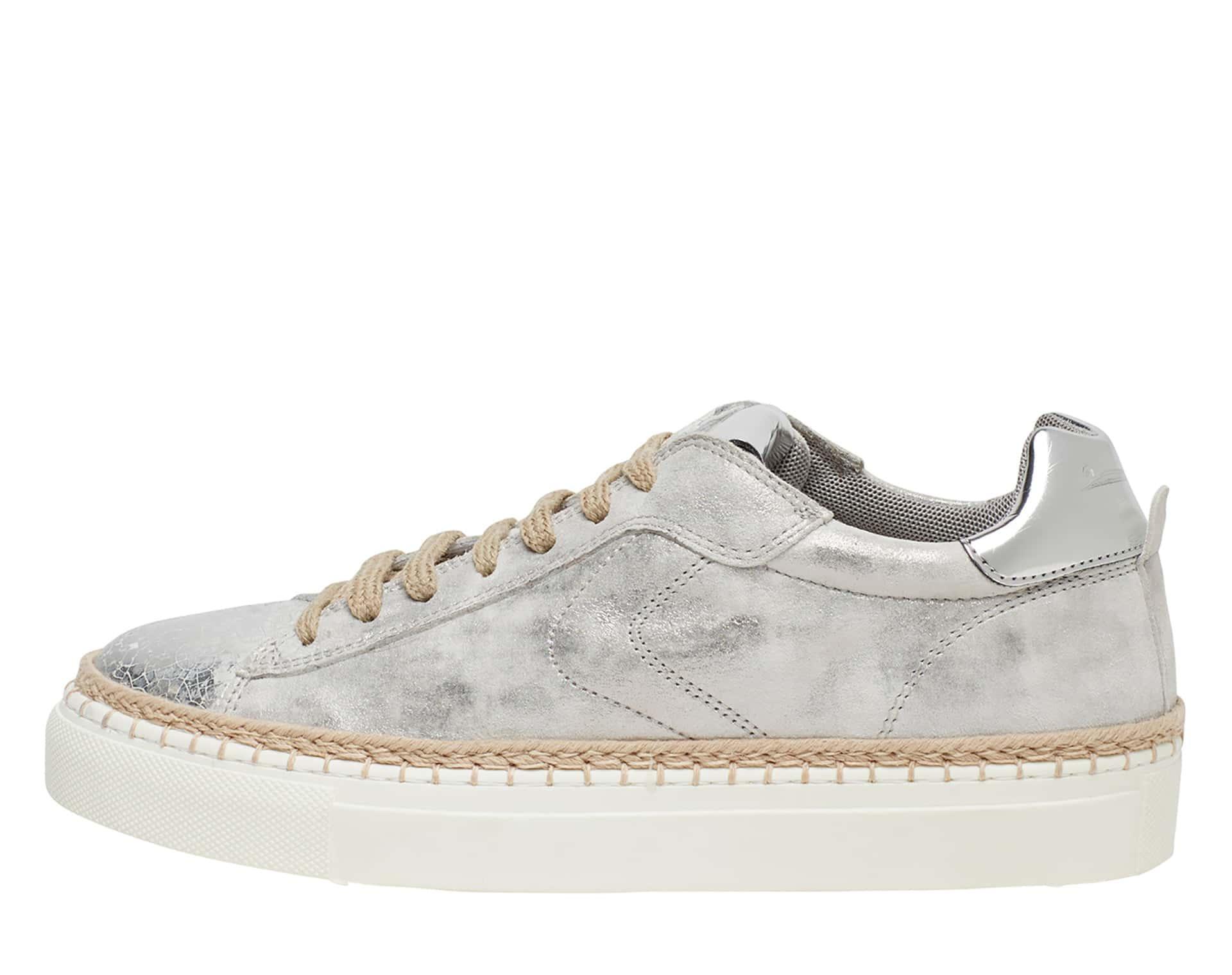 PANAREA - Leather sneakers - Silver