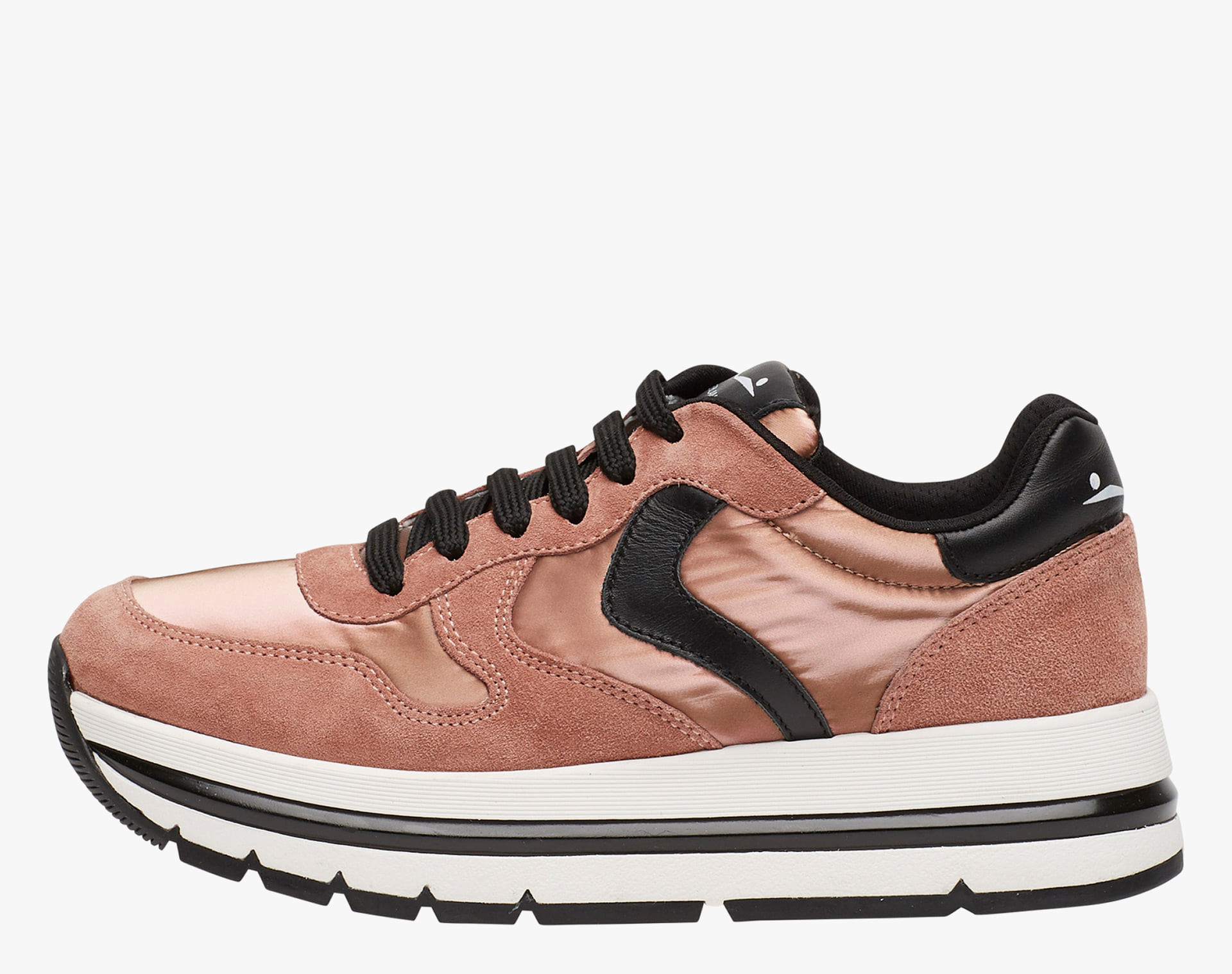 MARAN - Leather sneakers - Pink-Copper