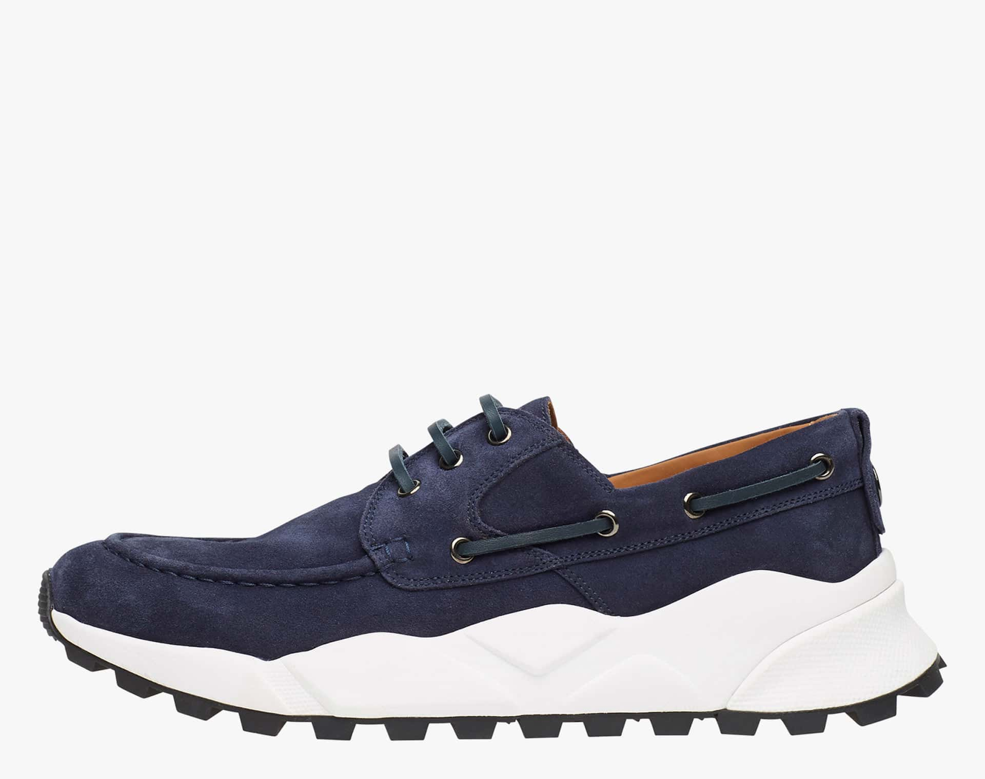EXTREEMER - Suede sailor sneakers - Blue
