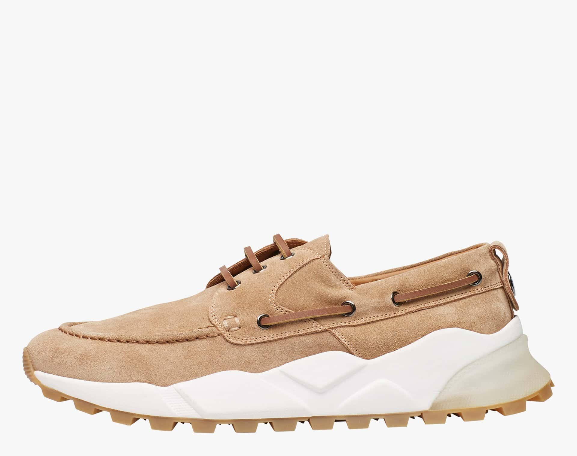 EXTREEMER - Suede sailor sneaker - Beige