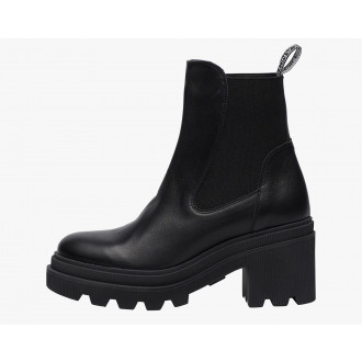 LODEN 009 - Heeled ankle boot - Black
