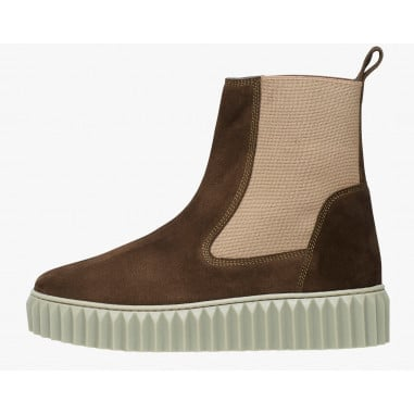 BETH - Suede ankleboot - Military