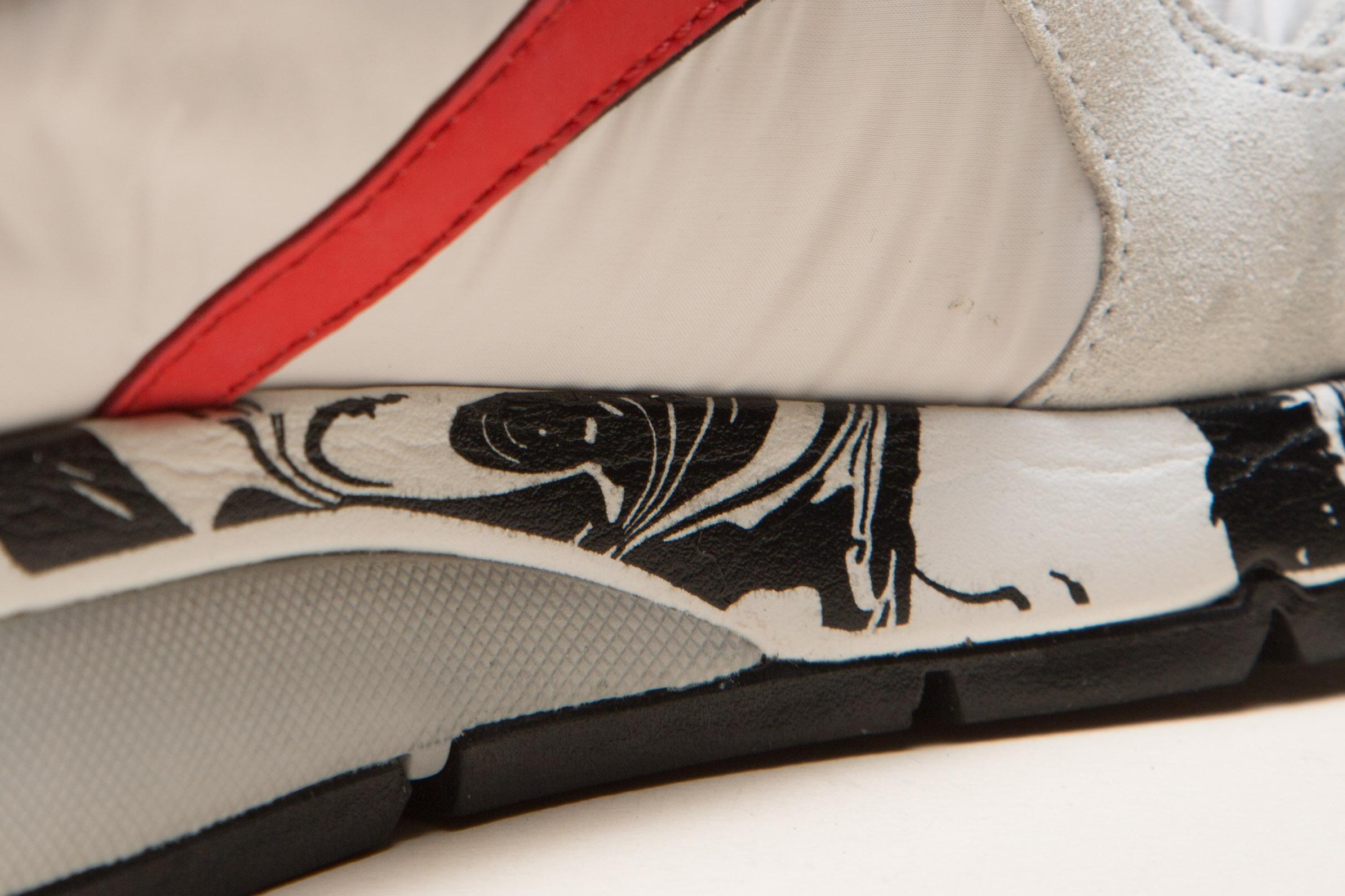 voile blanche italian sneakers