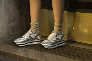 "Sneaker Voile Blanche Modello ""May"""